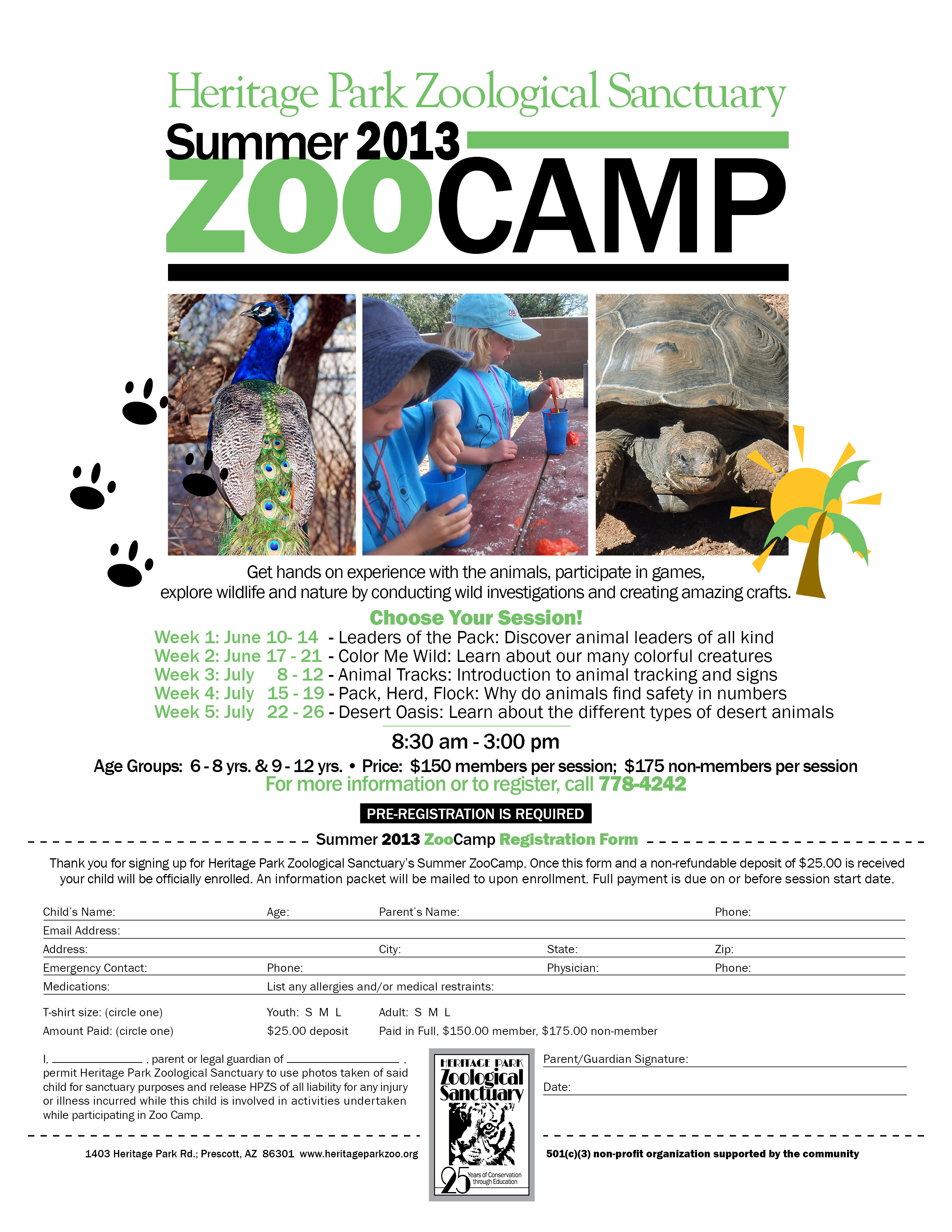 13-024 summer zoo camp flyer - copy