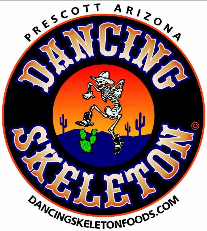 Dancing Skeleton Logo