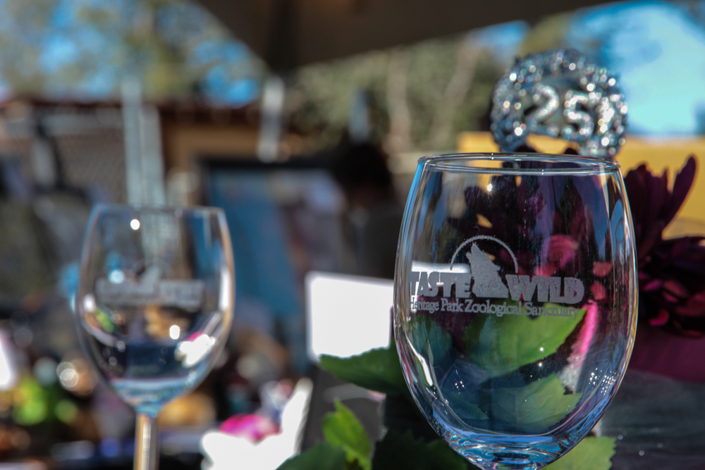 Taste of the Wild - Wine Glasses